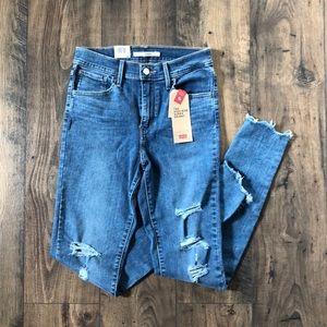 Levi's 720 High-Rise Super Skinny Jeans